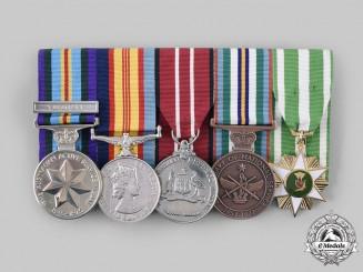 Australia. A Vietnam Infantry Veteran's Group of Five, to Private Gavan Patrick Joseph Leahy