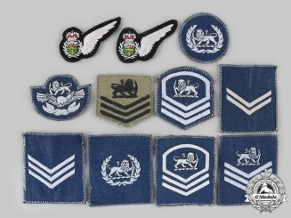 Rhodesia, Colony, Republic. Lot of Eleven Royal Rhodesia Air Force (RRAF)/Rhodesian Air Force (RhAF) Badges