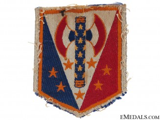 French Vichy Fascist Cloth Badge c.1942