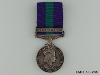 General Service Medal 1918-1962 to the Royal Engineers