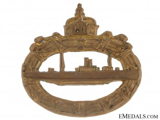 Imperial Naval Submarine Badge