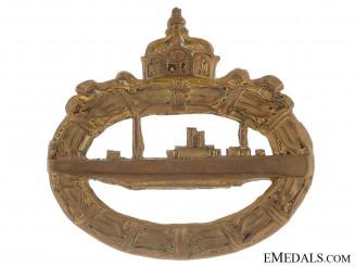 Imperial Naval Submarine Badge