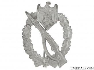 Infantry Badge-Silver - F. Wiedmann