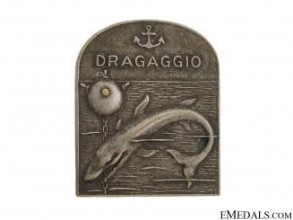 Italian WWII Period Minesweeper Badge