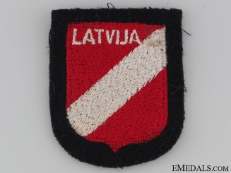 Latvian SS Volunteer Sleeve Shield
