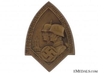 Lower Saxony - Brunswick Veterans Rally Badge  - 1936
