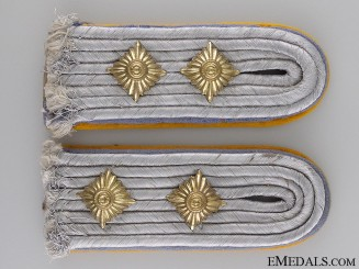 Luftwaffe Captain's (Hauptmann) Shoulder Board Pair