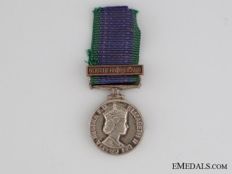 Miniature General Service Medal 1962-2007