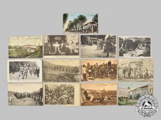Serbia, Kingdom. A Lot of Thirteen Unused Postcards, c.1910