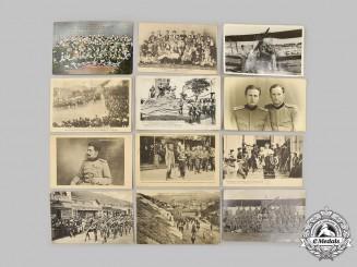 Serbia, Kingdom. A Lot of Three Photographs and Nine Unused Postcards, c.1910