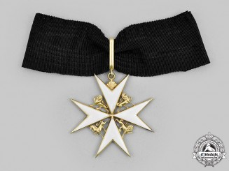 United Kingdom. An Order of St. John, Knight/Dame of Justice, in Gold