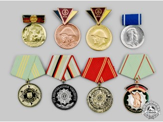 Germany, Democratic Republic. A Lot of Service Medals