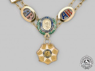 Venezuela, Bolivarian Republic. An Order of Andrés Bello, Collar, c.1980