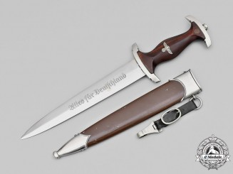 Germany, SA. A Model 1933 SA Group Hansa Dagger, by E. & F. Hörster