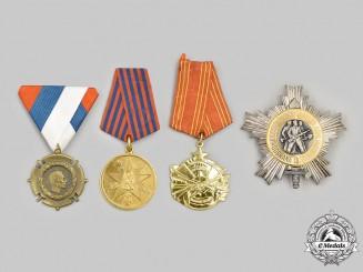 Serbia, Kingdom; Yugoslavia, Socialist Federal Republic. A Lot of Four Awards