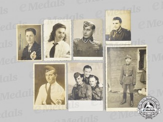 Croatia, Independent State. A Lot of Photos of Axis and German Personnel in Croatia