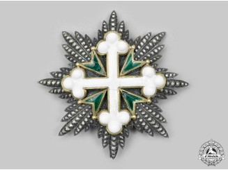 Italy, Kingdom. An Order of St. Maurice and St. Lazarus, I Class Grand Cross Star, c.1910