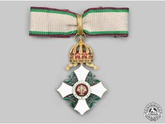 Bulgaria, Kingdom. A National Order for Civil Merit, III Class Commander, c.1905