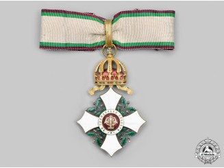 Bulgaria, Kingdom. A National Order for Civil Merit, III Class Commander, c.1905