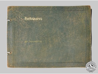 United States. A First War Transportation Corps French Theatre Photo Album