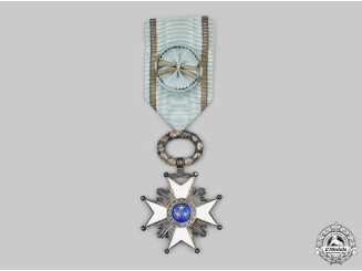 Latvia, Republic. An Order of the Three Stars, IV Class Officer, c.1930