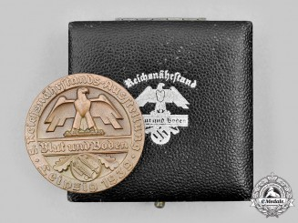 Germany, Reichsnährstand. A 1939 Butter-Making Merit Medal, with Case