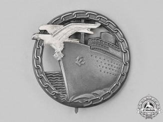 Germany, Kriegsmarine. A Blockade Runner Badge, by Schwerin