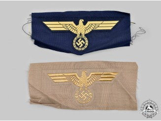 Germany, Kriegsmarine. A Pair of Breast Insignia