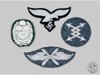 Germany, Luftwaffe. A Lot of Uniform Insignia