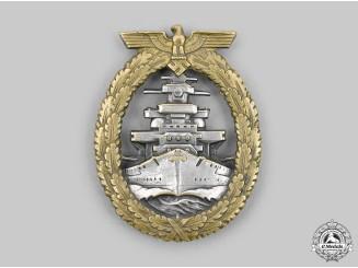 Germany, Kriegsmarine. A High Seas Fleet Badge, by Schwerin