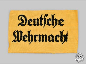 Germany, Wehrmacht. An Auxiliary Personnel Armband