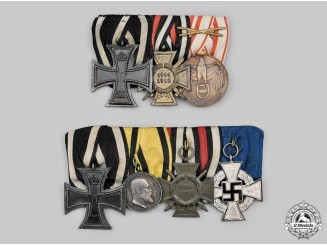 Germany, Imperial. A Pair of Medal Bars