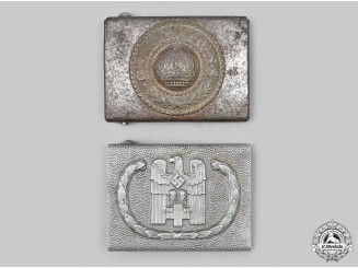 Germany. A Pair of Belt Buckles