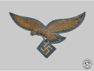 Germany, Luftwaffe. A Rare General's Cape Eagle
