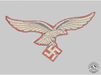 Germany, Luftwaffe. A Flak/Artillery Standard Flag Eagle Insignia