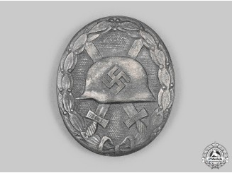 Germany, Wehrmacht. An Early Silver Grade Wound Badge