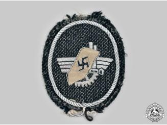 Germany, Third Reich. A Werkschutz Officer's Sleeve Insignia