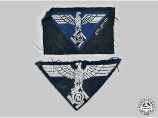 Germany, TeNo. A Pair of TeNo Uniform Insignia