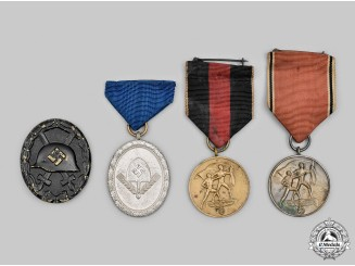 Germany, Third Reich. A Lot of Medals & Decorations