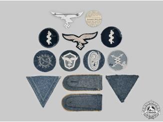 Germany, Luftwaffe. A Lot of Uniform Insignia