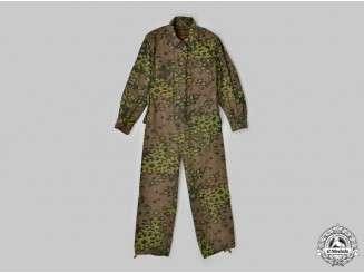 Germany, SS. A Rare Waffen-SS Panzer Crew Reversible Camouflage Coverall