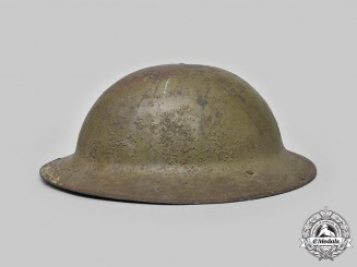 Canada, CEF. A First War Mark II Helmet
