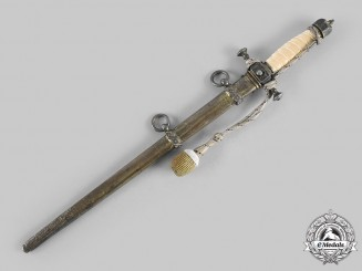 Germany, Imperial. An Imperial Navy Officer's Dress Uniform Dagger, by Weyersberg, Kirschbaum & Co.