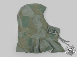 Germany, Heer. A Splinter Pattern Camouflage Reversible Winter Hood
