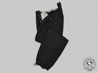 Germany, HJ/DJ. A Pair of Winter Uniform Trousers, c. 1937