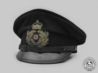 Germany, Imperial. An Naval Officer's Visor Cap