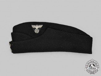 Germany, Third Reich. A Reichspost Enlisted Personnel Converted Overseas Cap