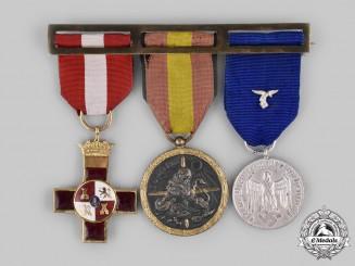 Germany, Luftwaffe. A Medal Bar to a Condor Legion Recipient