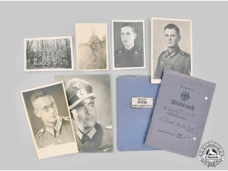 Germany, Wehrmacht. A Lot of Wartime Photos & Identity Documents