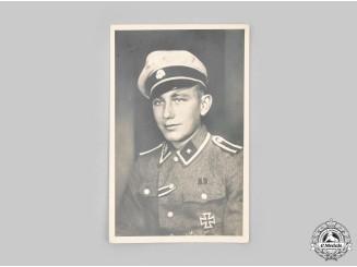 Germany, SS. A Studio Portrait of a Waffen-SS Unterscharführer